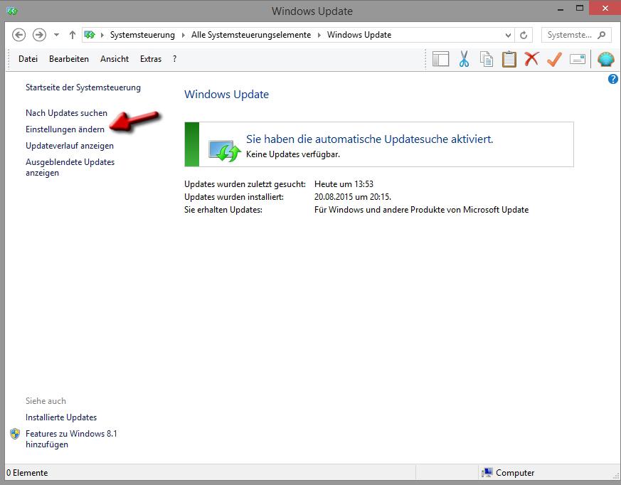 sicherheitsupdates windows 10 manuell starten